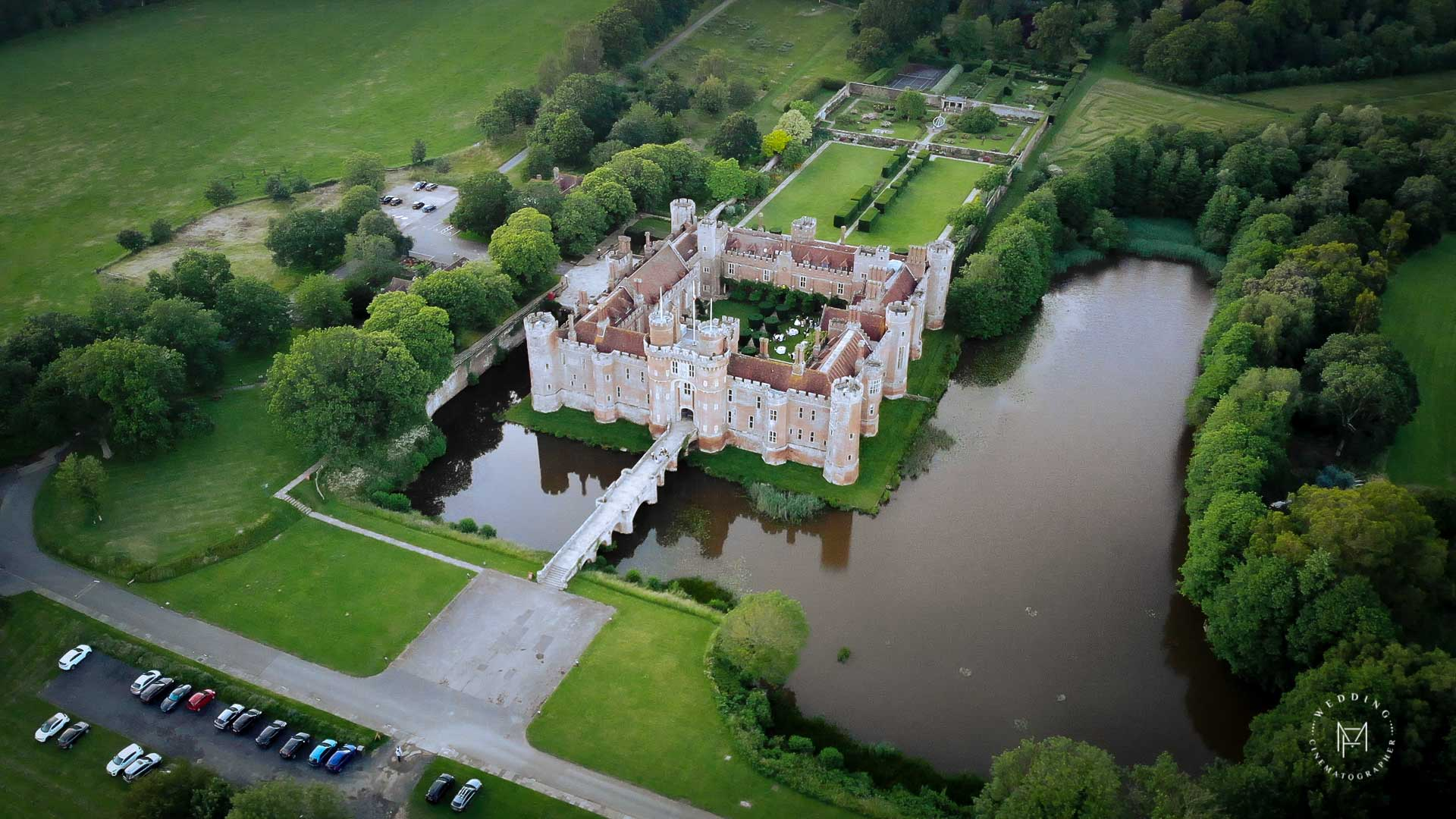 Herstmonceux Castle Wedding Videography